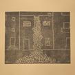 """""""Maison envahie"""" - 2013 - 27x42cm - linogravure"""