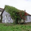 """""""Maison abandonnée, Version n°12"""" - 2020 (50 x 75 cm) commande publique"""