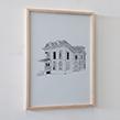 Abandoned House USA : Milan - Ohio - 2020 - 50x70cm
