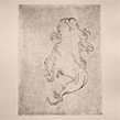 """Scalps"" dessin gravure - 2013 - 27x42cm"